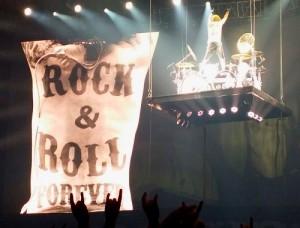 Scorpions en concert à Lyon avec James Kottak à la batterie