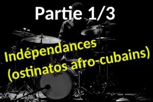 Apprendre l'indépendance à la batterie avec ces 3 ostinatos afro-cubains : Samba, Baiao, Salsa