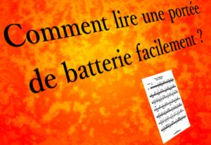 comment lire une portée de batterie - Batteur Extrême