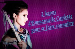 Emmanuelle Caplette donne des conseils pour se faire connaître en tant que batteur