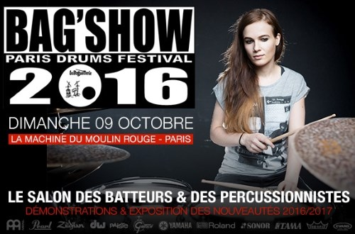 Bag show drum festival 2016 à Paris
