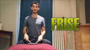 Cours de batterie débutant - Rudiments - Le FRISE - Batteur Extrême