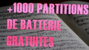 Partitions de batterie gratuites - Batteur Extrême