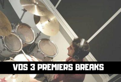 3 breaks débutant à la batterie - Batteur Extrême