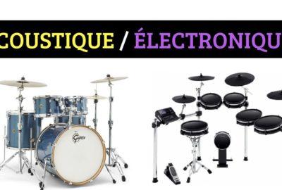 Batterie acoustique - électronique
