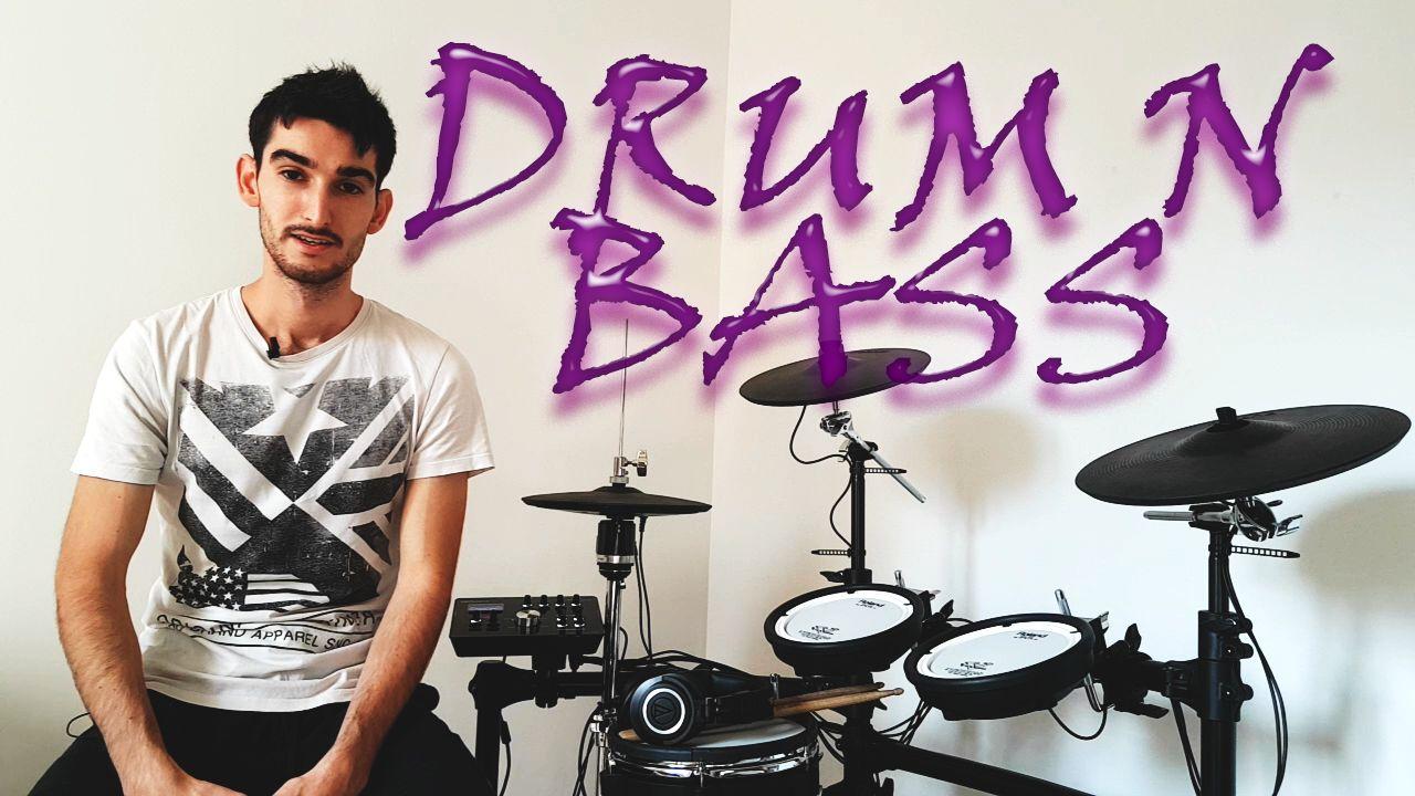 rythme-drum-n-bass-à-la-batterie