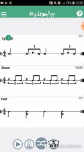 groove ternaire my drum app
