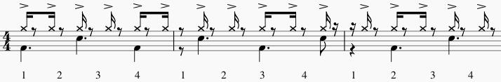 illusions rythmiques accent toutes les 3 double croche 2