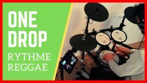 rythme de batterie reggae one drop