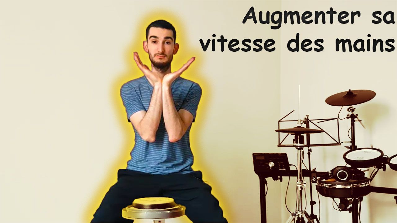 comment augmenter sa vitesse de mains à la batterie