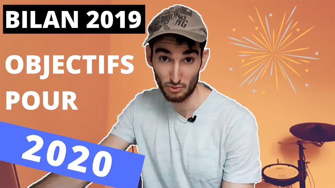BILAN 2019 et OBJECTIFS 2020 à la batterie